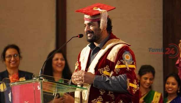 202102181406273123 Tamil News Tamil cinema Madhavan Receives Doctor Of Letters SECVPF