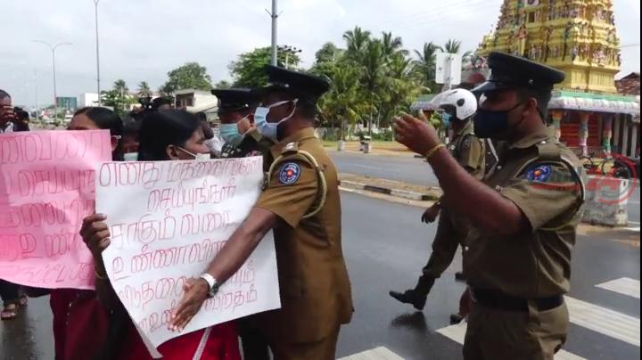 Kilinochchi Protest 22