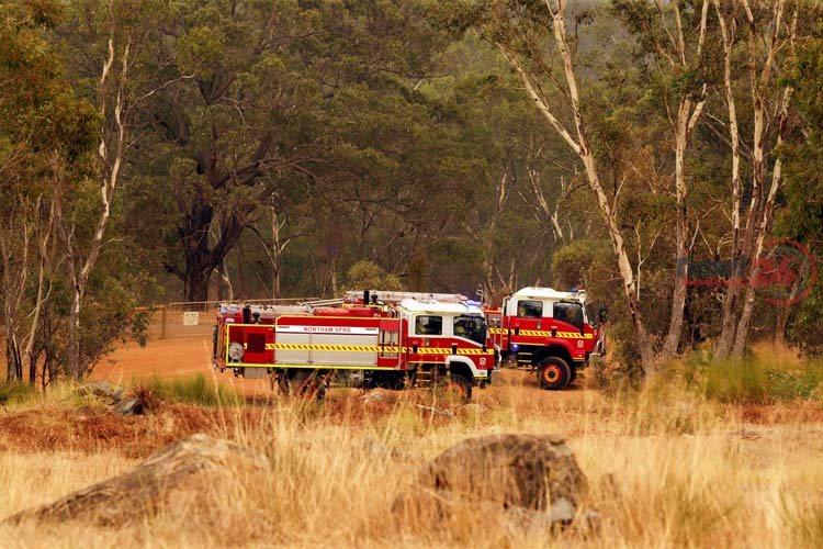 Western Australia Perth fire 1